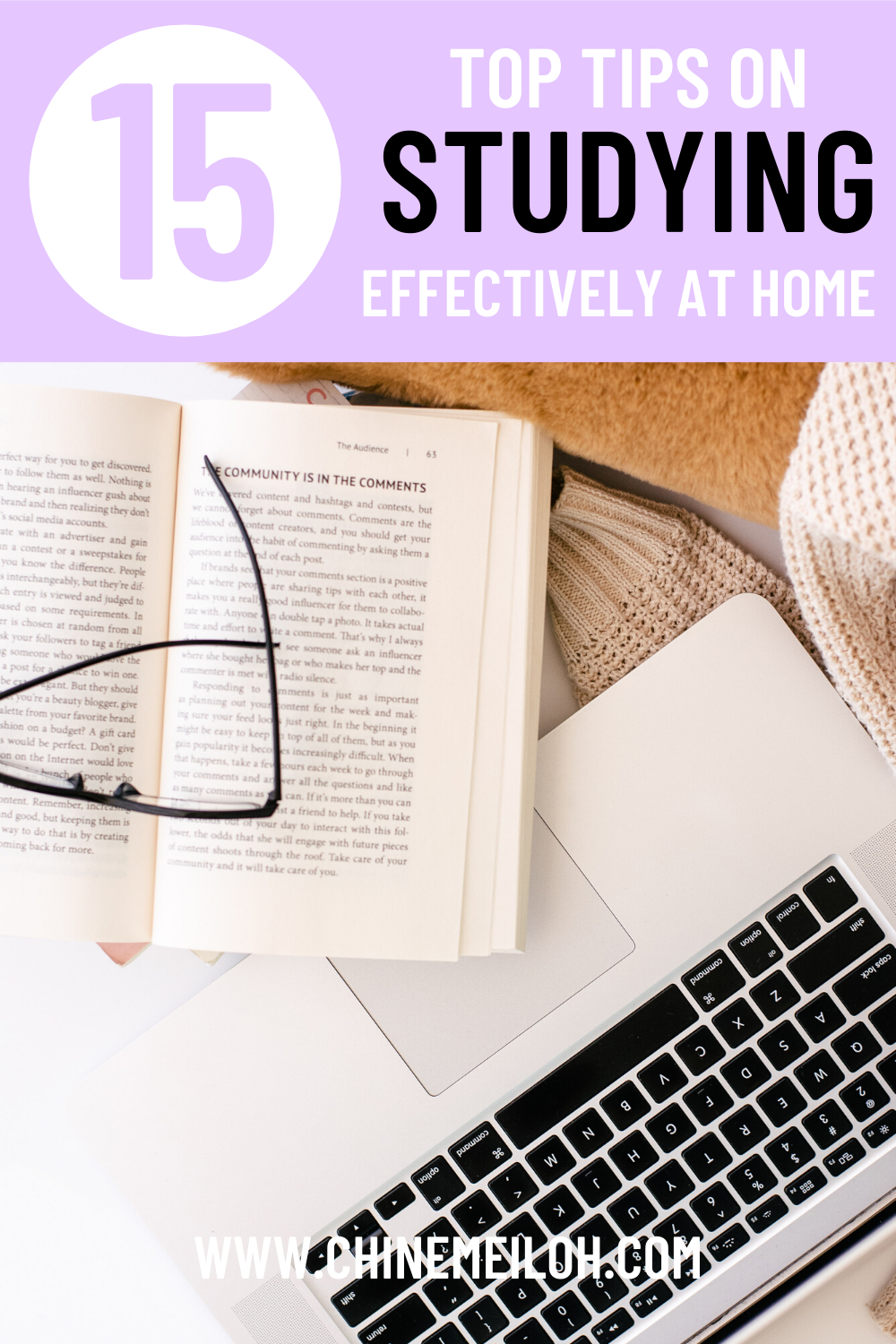 15 top tips on studying at home